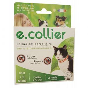 Essentiel E.collier - Collier antiparasitaire pour chat