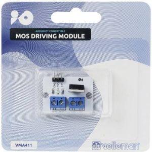 Velleman Module pilotage MOS VMA411 adapté aux cartes Arduino 1 pc(s)