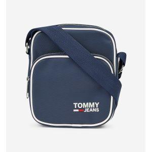 Tommy Jeans Sacoche TJM MODERN PREP MINI REPORTER bleu - Taille Unique