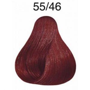 Wella Koleston Perfect Vibrant Reds 55.46 Châtain clair cuivré violet