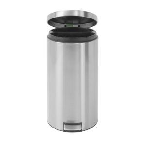 Brabantia Double poubelle à pédale en acier (40 L)