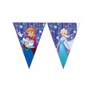 Image de Guirlande fanions La Reine des Neiges Disney