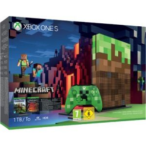 Microsoft Console Xbox One S Xbox One S 1To Minecraft Edition limitée
