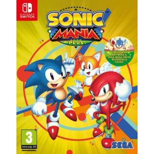 Sonic Mania Plus sur Switch
