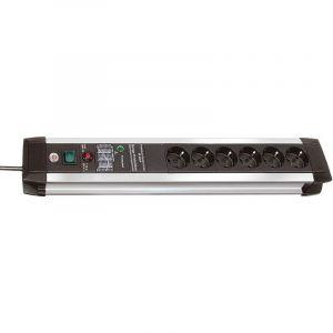 Brennenstuhl Protection contre les surtensions Premium-PROTECT 3m/Schalter/6fach 60kA (1391000607)