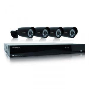 Thomson 512322 - Enregistreur Vidéo Réseau IP avec 4 caméras