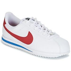 Nike Cortez Basic SL (GS), Chaussures de Trail Garçon, Blanc (White/Varsity Red/Varsity Royal/Black 103), 36.5 EU