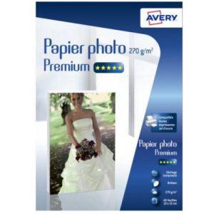 Avery-Zweckform Papier photo Avery 40 Photos brillantes 10x15 270g