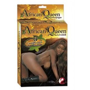 """Poupee gonflable """" African Queen"""""""