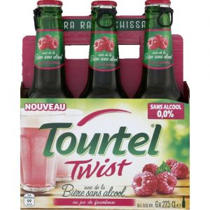 Tourtel 6x27,5cl twist framboise vr - 0.00 degre alcool