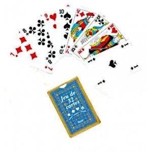 Kim'play Lot 10 jeux de 32 cartes de luxe : Belote
