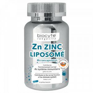 Biocyte Zn Zinc Liposomé - 60 gélules