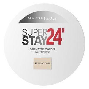 Maybelline Superstay 24H 21 Nude - Fond de teint compact waterproof
