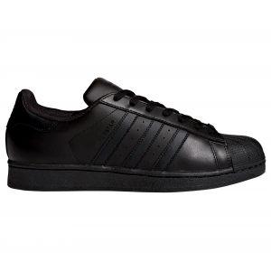 Adidas Originals Superstar Foundation, Baskets Basses garçon, Noir Core Black, 36 EU
