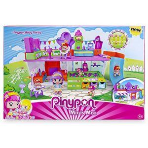 Famosa Pinypon - Coffret espace de jeux + 3 figurines