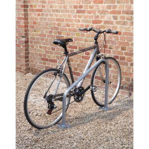 Mottez 2 supports vélos à platine triangles B143C2TRI