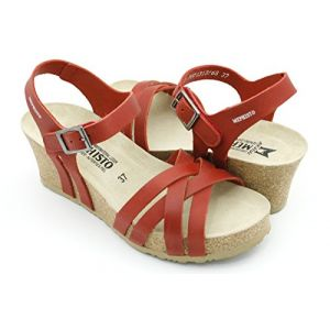 Mephisto LANNY - Sandales / Nu-pieds - RED - Femme - T. 38