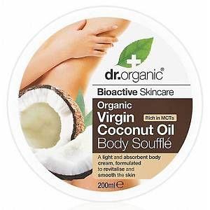 Dr. Organic Virgin Coconut Oil - Body Soufflé 200 ml