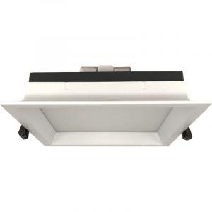 Silamp Downlight Spot LED Carré 15W - couleur eclairage : Blanc Neutre 4000K - 5500K