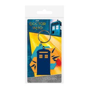 Doctor Who Porte cles Caoutchouc Tardis Shapes [Produit Derive]