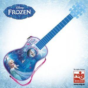 Reig Musicales 5392 - Guitare électronique La Reine des Neiges