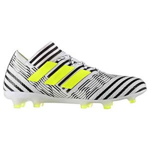 Adidas Nemeziz 17.1 FG, Chaussures de Football Homme, Multicolore - Blanc/Noir