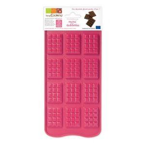 Scrapcooking Moule à chocolat Mini-tablettes en silicone