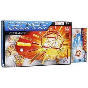 Geomag Coffret Color 120 pièces avec Panels 22TLG