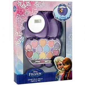Palette de maquillage coeur La Reine des Neiges Disney