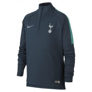 Nike Haut de football à manches longues Tottenham Hotspur Dri-FIT Squad Drill pour Enfant plus âgé - Bleu - Taille XS