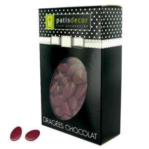 Patisdécor Dragées chocolat bordeaux - 500 g