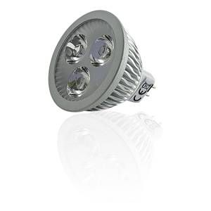 Superled Spot LED MR16 4W 12V Dimmable équivalent 40W Blanc Chaud (2700K)