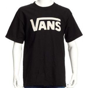 Vans T-shirt Classic Junior (black/white) Enfant Noir, Taille XL
