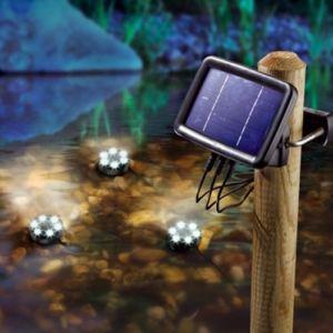 Esotec Splash - 3 spots solaires pour bassin ou fontaine