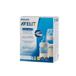 Philips SCD809/01 2 biberons Anti-colic avec valve AirFree 125ml et 260ml