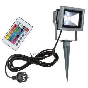 Globo Lighting Projecteur exterieur aluminium noir 10W 12V