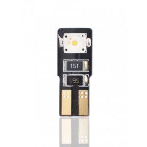Habill-auto ampoule LED T10 W5W 6W 12V canbus blanc