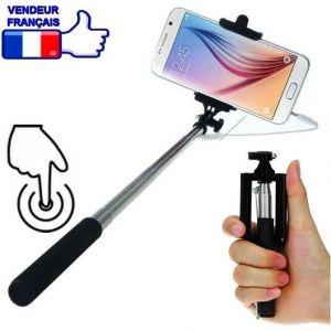 Cheapatleast Perche à selfie avec bouton déclencheur intégré au manche - Pour Iphone et Smartphone Android et apn