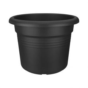 Elho Pot cylindrique noir gamme green basics Ø 78 cm