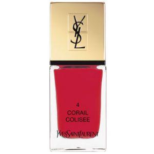 Yves Saint Laurent La Laque Couture 04 Corail Colisée - Vernis à ongles