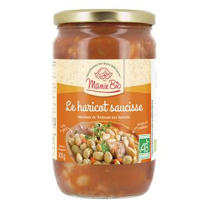 Mamie bio Le haricot saucisse bio - 800 g