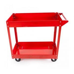 Chariot servante d'atelier à outils 2 étages 100 kg - HELLOSHOP26