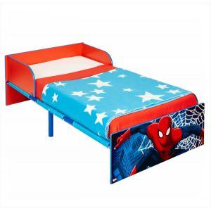 Worlds Apart Lit pour garçon Spider-man en bois et métal (140 x 70 cm)