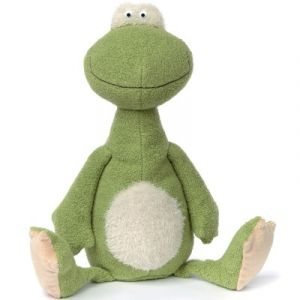 Sigikid Peluche grenouille Ach good Beasts grand modèle (36 cm)