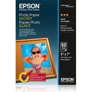 Epson Photo Paper Glossy 13x18cm 50 Blatt 200 g