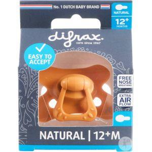 Difrax Sucette Natural 12+ Mois Orange