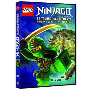 LEGO Ninjago, Les maîtres du Spinjitzu - Saison 4 - Le tournoi des éléments - Partie 2 [DVD]