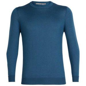 Icebreaker Quailburn Crewe Sweater - Pull mérinos taille S, bleu