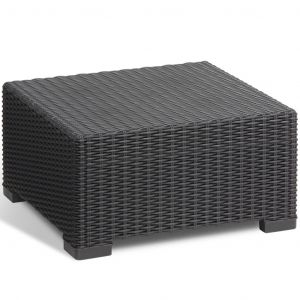 Allibert Table d'extérieur California Graphite 197421