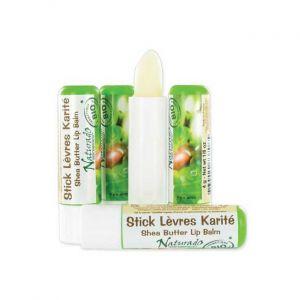 Naturado Stick lèvres au karité, citron et pamplemousse